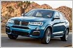 BMW reveals the X4 M40i