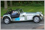 Caterham's frugal Seven 160 makes its MPG Marathon debut