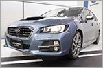 The Subaru Levorg sees daylight