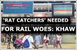 'Rat catchers' needed to ease rail woes: Khaw