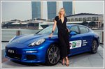Maria Sharapova spends 1-on-1 time with Porsche in Singapore