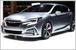 World premiere of the Subaru Impreza 5-door concept