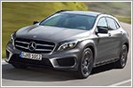 Mercedes-Benz GLA250 adds upgraded technology for 2016