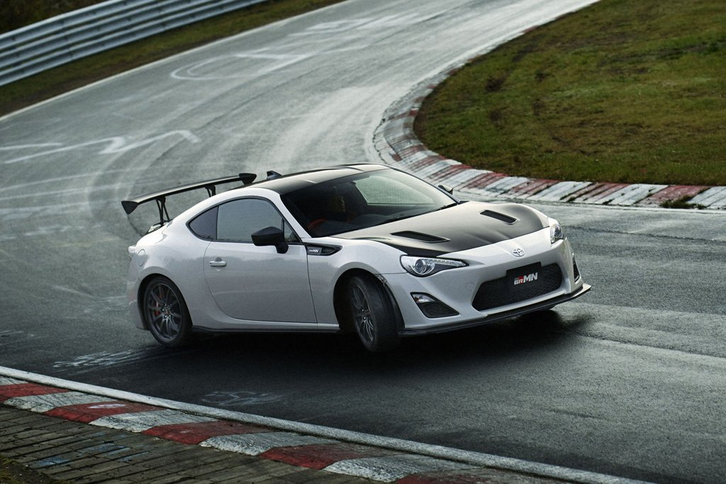 Toyota's Japanese tuning division unveils the 86 GRMN