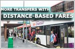 More transfers with distance-based public transport fares