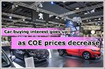 COE price falls drive up interest in car buying