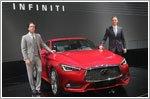 Infiniti debuts three models at Geneva
