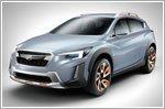 The XV Concept previews Subaru design direction