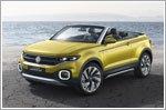 Volkswagen T-Cross Breeze Concept on show in Geneva