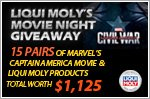 Captain America movie tickets and Liqui Moly products to be won!