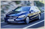 The facelifted Mercedes-Benz CLA and CLA Shooting Brake