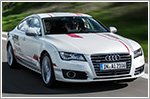 Piloted Audi A7 Sportback shows results