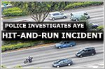 Police probing hit-and-run incident on AYE