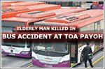 Elderly man killed by bus outside Toa Payoh interchange