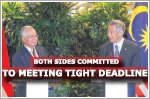 Both sides committed to meeting tight timeline