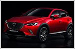 This is the all new Mazda CX-3 crossover