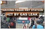 Freon gas found leaking from train's air-conditioning system