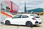 Production and export of the U.S.A Civic hatchback commences