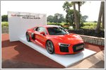 Singapore winners compete at the Audi quattro Cup World Final 2016 in Barcelona