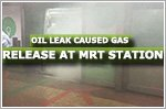 Oil leak in train's air-conditioning caused gas leak at Tanjong Pagar MRT