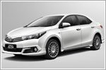 Limited edition 50th anniversary Corolla Altis
