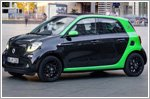 World premiere of the fourth generation Smart electric drive