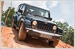 Jeep takes us off-road in the Jeep 'No Road' Experience