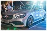 The facelifted CLA Coupe and Shooting Brake arrive