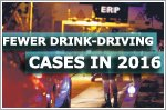 Drink-driving related cases down in first half of 2016