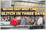 East-West Line hit by second glitch in three days