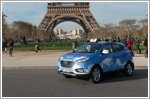 Hyundai Motor takes the next STEP with Paris' Fuel Cell taxi fleet