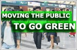 Moving the public to go green