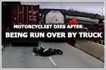 Motorcyclist dies after being run over by container truck at Jalan Buroh