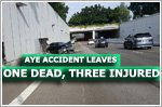 Accident on AYE leaves trail of destruction with one dead and three injured