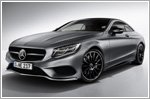 Mercedes-Benz S-Class Coupe Night Edition's debut