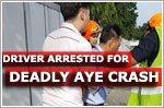 Driver arrested after deadly mayhem on AYE