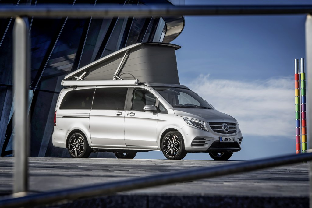 Mercedes Benz V Class Marco Polo Camper Van Goes On Sale In The U K