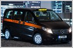 All new Mercedes-Benz Vito Taxi arrives in London