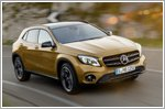 The new Mercedes-Benz GLA receives extended range of engines