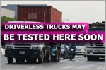 Driverless trucks may be tested in Singapore within three years' time