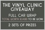 $3,400 worth of full car wraps to be won!