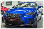 The new Lexus IS makes a bold statement at the Singapore Motor Show 2017