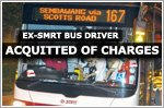 An ex-SMRT bus driver accused of a rash act has been acquitted