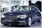 BMW 5 Series Sedan - Interactive vehicle exhibition and new BMW film at BMW Welt