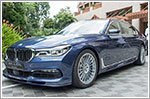 Munich Automobiles launches the new flagship BMW Alpina B7 luxury saloon