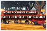 Motor accident claims now more likely to be settled out of court