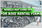 Wheels may come off for bicycle rental firms in Singapore