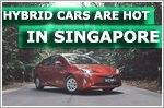 Hybrid cars gaining popularity in Singapore