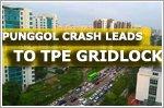 Punggol crash leads to TPE gridlock in morning rush