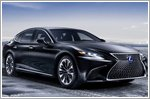 All new Lexus LS500h makes its world premiere at the 2017 Geneva Motor Show